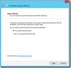 WindowsServer2012_ExportPrivateKeyPossible